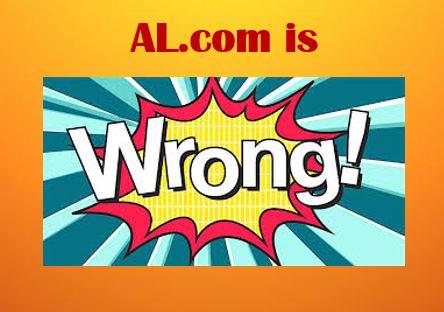 AL.com Wrongly Accuses EF of A Crime