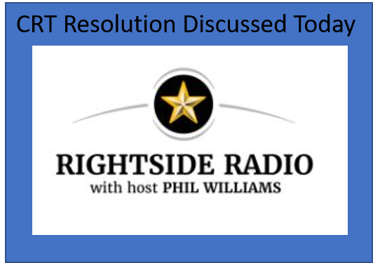 EF Discusses CRT Resolution on RIGHTSIDE RADIO
